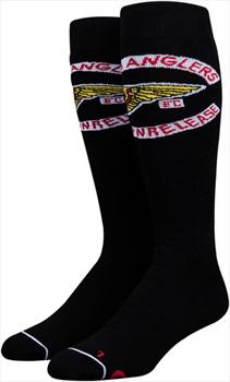Stinky OG Collab Chris Bradshaw Snowboard/Ski Socks, L-XL Black/White