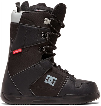 DC Phase Lace Snowboard Boots, UK 10.5 Black 2020