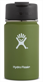 Hydro Flask 12oz Wide Mouth Flip Lid Coffee Vacuum Flask, 12oz Olive