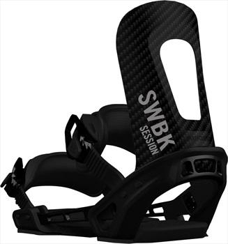 Switchback Session Snowboard Binding, XS-M Raw 2019