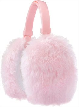 Manbi Faux Fur Sherpa Fleece Lined Ski/Snowboard Ear Muffs, OS Pink