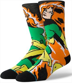Stance X-Men Skate/Crew Socks, M Jean Grey