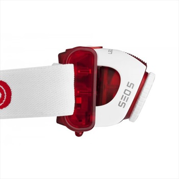 Led Lenser SEO5 Compact Head Torch With Transportation Lock 180 Lumens