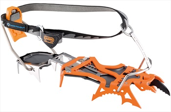 Cassin Blade Runner Ice & Mixed Climbing Crampon, Size 1 Orange