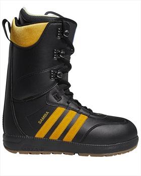 Adidas Samba ADV Snowboard Boots, UK 10.5 Black/Collegiate Gold 2020