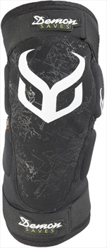 Demon Hyper Knee X D3O Snowboard/Ski Pads, S Black/White