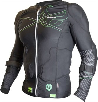 Demon Flex Force Pro Body Armour Top XL Black/Green