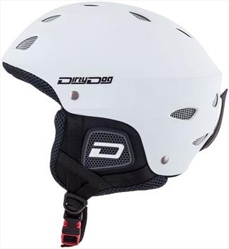 Dirty Dog Orbit Kids Snowboard/Ski Helmet, Matte White Kids