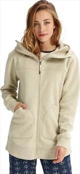 Burton Minxy Women's Full-Zip Fleece, S Pelican Heather
