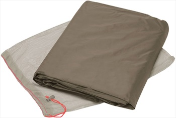 Vaude Floor Protector Hogan SUL 2P Tent Footprint, Bark