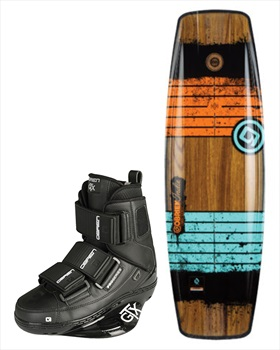 O'Brien Indie   GTX Cable Wakeboard Package, 136  UK 7-9 Multi