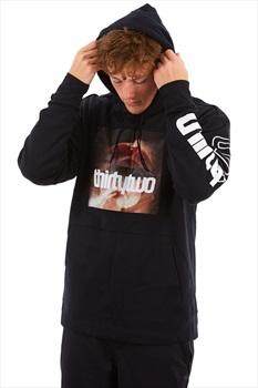thirtytwo Boxer Graphic Pullover Ski/Snowboard Hoodie, M Black