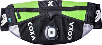 Coxa Carry Adult Unisex WR1 Waist Bag Running Hydration Pack S/M Green