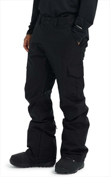 Burton Cargo Tall Fit Snowboard/Ski Pants, M True Black 2020