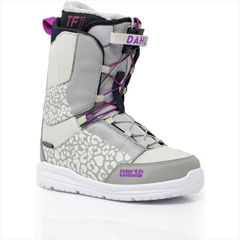 Northwave Dahlia SL Women's Snowboard Boots, UK 5 White 2020