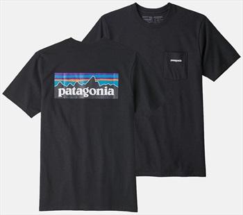 Patagonia P-6 Logo Pocket Responsibili-tee T-Shirt, XL All Black