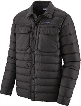 Patagonia Silent Down Insulated Shirt Jacket, S Black