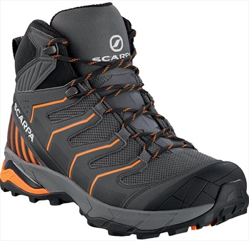 Scarpa Adult Unisex Maverick Gtx Hiking Shoe, Uk 7 1/4, Eu 41 Iron Grey/Orange