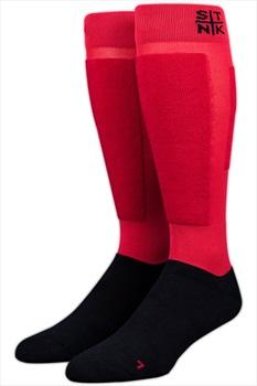 Stinky Adult Unisex Snowboarding Snowboard/Ski Socks, XS Young Blood