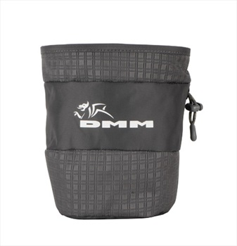 DMM Tube Rock Climbing Chalk Bag, Grey