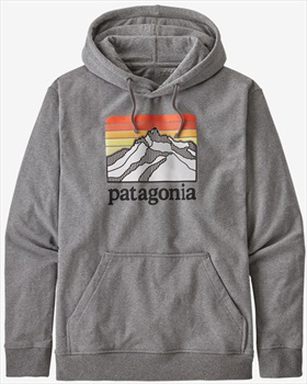 Patagonia Line Logo Ridge Uprisal Pullover Hoody, M Gravel Heather
