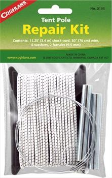 Coghlan's Tent Pole Repair Kit Compact Field Repair Pack, White
