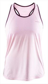 Craft Eaze Singlet Quick Dry Women's Tank Top Vest, S Misty Melange
