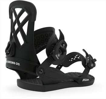 Union Milan Women's Snowboard Bindings, L Black 2020