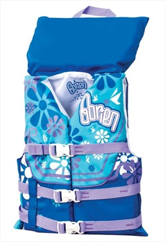 O'Brien Kids Watersports Buoyancy Jacket With Collar, Youth Purple