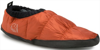 Nordisk Mos Down Shoes Insulated Camping Slippers, UK 2.5-5 Orange