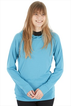 Black Diamond Alpenglow Women's Technical Hoody, M Arctic Blue