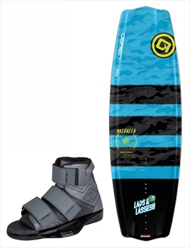 O'Brien Valhalla DOC|Connect Wakeboard Package, 138|3-7 Grey 2019