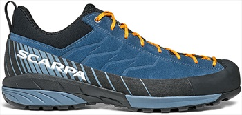 Scarpa Mescalito Tech Approach Shoe, UK 7 1/4, EU 41 Ocean/Citrus