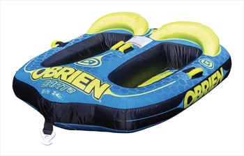 O'Brien Dart Seated Towable Inflatable Tube, 2 Rider Blue