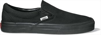 Vans Classic Slip-On Skate Shoes, UK 8.5 Black/Black