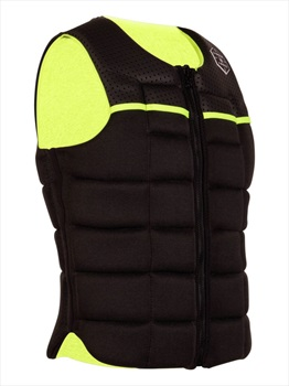 Liquid Force Flex Wakeboard Impact Vest, Large Black Yellow 2020