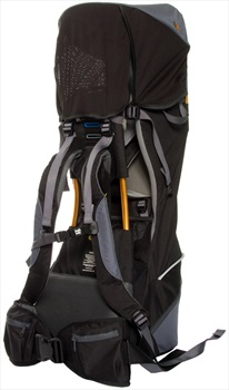 Bushbaby Pinnacle Child Carrier Hiking Backpack One Size Black/Grey