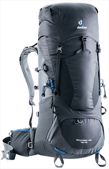Deuter Aircontact Lite 40 + 10 Backpacking Rucksack, Black-graphite