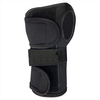 Manbi Economy Neoprene Support Ski/Snowboard Wrist Guards, OS Black