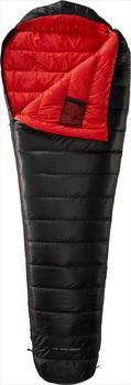 Yeti VIB 250 Lightweight Down Sleeping Bag, M Black/Red LZ
