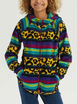Burton Kid's Spark Full-Zip Fleece Hoodie, M Leopardy Cat