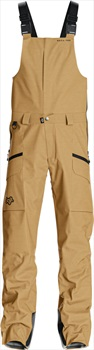 Saga Monarch Snowboard/Ski Bib Pants M Tobacco