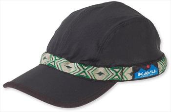 Kavu Synthetic Capstrap Low Profile Sailing/Kayaking Hat, M Black
