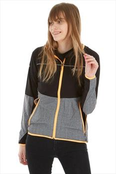 Kilpi Womens Joshua Softshell Jacket, UK 8 Grey/Yellow/Black
