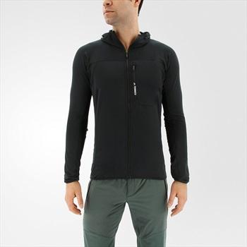 Adidas Terrex TraceRocker Full Zip Fleece Hoodie, M Black