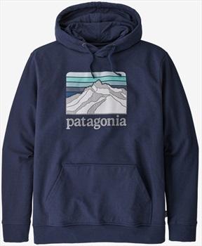 Patagonia Line Logo Ridge Uprisal Pullover Hoody, L Classic Navy