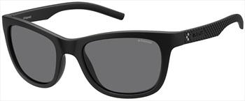 Polaroid Pico Grey Polarized Sunglasses, Black