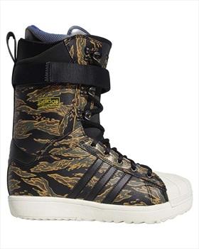 Adidas Superstar ADV Snowboard Boots, UK 10.5 Black/Cargo/Desert 2020