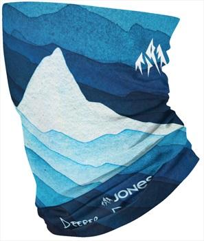 Jones Verbier Neckwarmer Ski/Snowboard Neck Chube, Blue