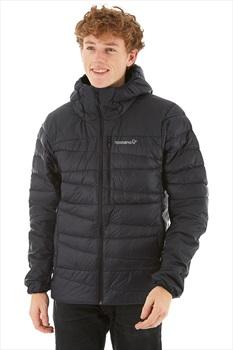 Norrona Falketind 750 Down Hood Jacket Insulated Jacket, M Caviar